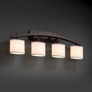 Justice Design FAB-8594 Archway Textile 4-Light Bath Sconce