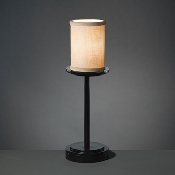 Justice Design FAB-8799 Dakota Textile Lighting Table Lamp