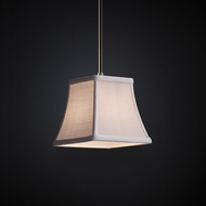 Justice Design FAB-8815 Pendants Textile Mini Hanging Pendant Lighting