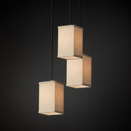 Justice Design FAB-8864 Pendants Textile Multi Hanging Light Fixture