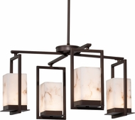 Justice Design FAL-7510W LumenAria Laguna Contemporary LED Exterior Chandelier Light