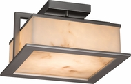 Justice Design FAL-7517W LumenAria Laguna Contemporary LED Exterior Flush Lighting