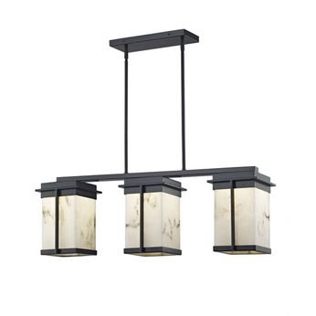 Justice Design FAL-7540W LumenAria Pacific Contemporary LED Outdoor Kitchen Island Lighting