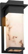Justice Design FAL-7541W LumenAria Pacific Contemporary LED Outdoor Small Wall Light Sconce