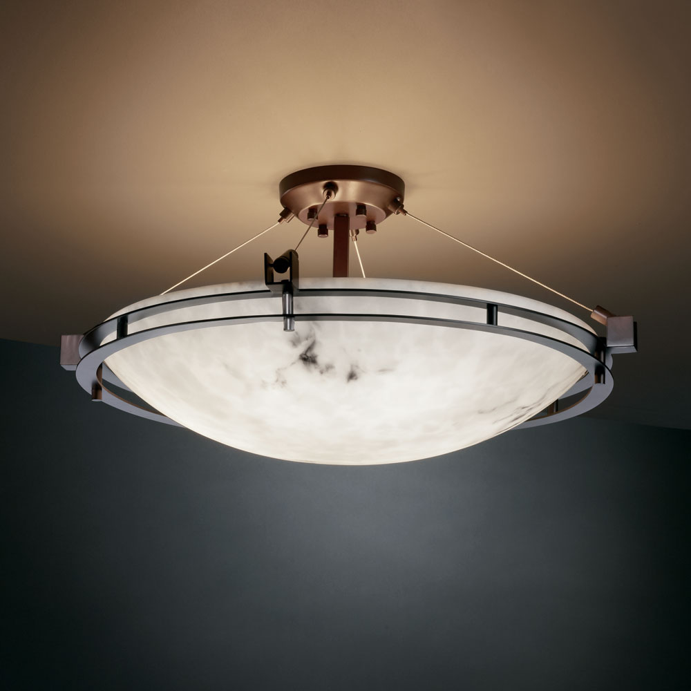 Justice design fal 8112 lumenaria faux alabaster 28 wide flush justice design fal 8112 lumenaria faux alabaster 28nbsp wide flush mount ceiling light loading zoom aloadofball Image collections