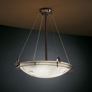 Justice Design FAL-8122 LumenAria� Faux Alabaster 30 Tall Home Ceiling Lighting