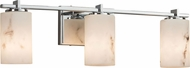 Justice Design FAL-8443 LumenAria Era Modern 3-Light Bathroom Light