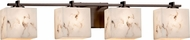 Justice Design FAL-8444 LumenAria Era Contemporary 4-Light Bathroom Lighting Fixture