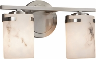 Justice Design FAL-8452 LumenAria Atlas Contemporary 2-Light Vanity Lighting