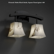 Justice Design FAL-8592 Archway Transitional Lumenaria 2 Lamp Bath Lighting