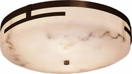 Justice Design FAL-8998 LumenAria Atlas Contemporary LED Flush Ceiling Light Fixture