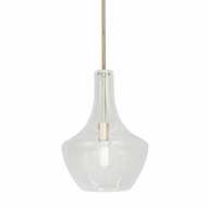 Justice Design FSN-4171-SEED-BRSS Fusion Harlow Contemporary Brushed Brass LED Lighting Pendant
