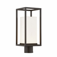 Justice Design FSN-7513W Fusion Laguna Contemporary LED Outdoor Lighting Post Light