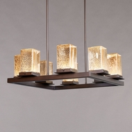 Justice Design FSN-7519W Fusion Laguna Contemporary Outdoor Lighting Chandelier