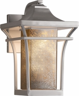 Justice Design FSN-7521W-MROR Fusion Summit Contemporary Exterior Wall Lighting Fixture