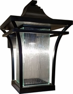Justice Design FSN-7521W-RAIN Fusion Summit Modern Outdoor Wall Light Sconce