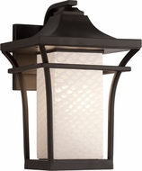 Justice Design FSN-7524W-WEVE Fusion Summit Modern Outdoor Light Sconce