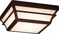 Justice Design FSN-7525W-OPAL Fusion Summit Contemporary LED Exterior Home Ceiling Lighting