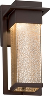 Justice Design FSN-7541W-MROR Fusion Pacific Contemporary LED Outdoor Small Wall Mounted Lamp