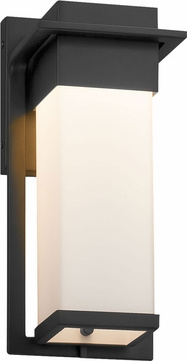 Justice Design FSN-7541W-OPAL Fusion Pacific Modern LED Exterior Small Wall Light Sconce