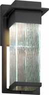 Justice Design FSN-7541W-RAIN Fusion Pacific Contemporary LED Outdoor Small Wall Lighting Fixture
