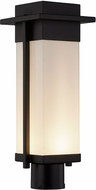 Justice Design FSN-7542W Fusion Pacific Contemporary LED Outdoor Post Light Fixture