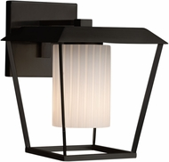 Justice Design FSN-7554W-10-RBON Fusion Patina Modern Exterior Large Wall Sconce