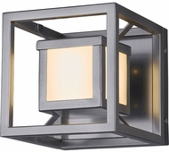Justice Design FSN-7620W Fusion Bayview Modern LED Outdoor Lamp Sconce
