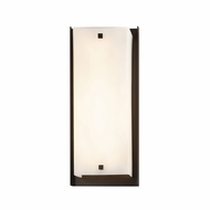 Justice Design FSN-7652W-OPAL Fusion Carmel Modern LED Outdoor Lighting Wall Sconce