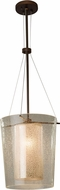 Justice Design FSN-8010 Fusion Amani Contemporary Pendant Lighting