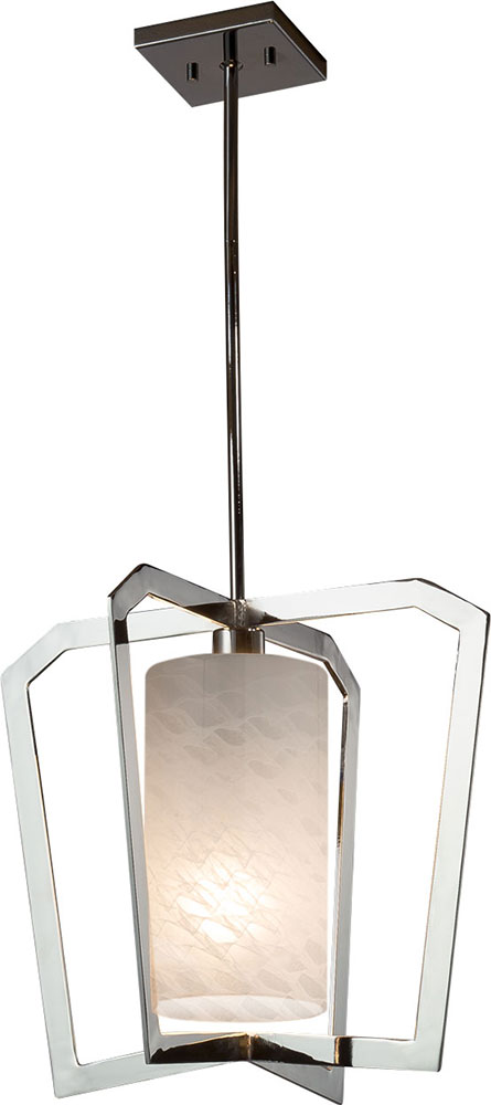 Justice Design Fsn 8011 Weve Fusion Aria Modern Foyer Lighting Fixture