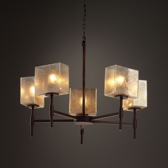 Justice Design FSN-8410 Union Fusion Chandelier Lamp