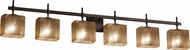 Justice Design FSN-8416 Fusion Union Contemporary Bath Light Fixture