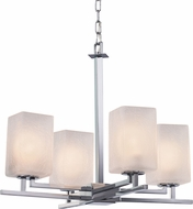 Justice Design FSN-8700-15 Fusion Aero Contemporary Mini Chandelier Light