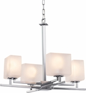 Justice Design FSN-8700-55 Fusion Aero Contemporary Mini Hanging Chandelier