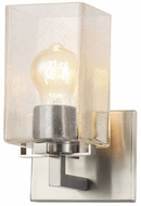 Justice Design FSN-8941-15-SEED-NCKL Fusion Vice Modern Brushed Nickel LED Wall Lighting Fixture