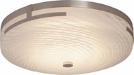 Justice Design FSN-8995 Fusion Atlas Modern LED Ceiling Light Fixture