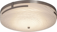 Justice Design FSN-8998 Fusion Atlas Contemporary LED Ceiling Lighting Fixture