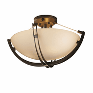 Justice Design FSN-9711-35 Fusion Crossbar Contemporary Ceiling Lighting Fixture