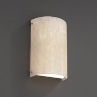 Justice Design FSN-5542W Fusion™ Artisan Glass 12.5  Tall Outdoor Sconce Lighting