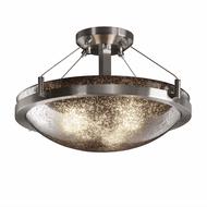 Justice Design FSN-9681-35 Fusion Ring Modern Round Ceiling Lighting