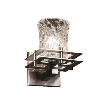 Justice Design GLA-8171 Veneto Luce Metropolis Contemporary Wall Light Sconce