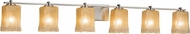 Justice Design GLA-8446 Veneto Luce Era Modern Bathroom Vanity Lighting