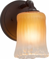 Justice Design GLA-8461 Veneto Luce Bronx Contemporary Light Sconce