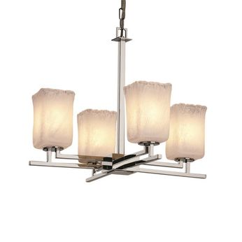 Justice Design GLA-8700-26 Veneto Luce Aero Modern Mini Chandelier Light