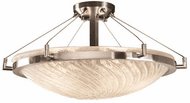 Justice Design GLA-9682-35 Veneto Luce Ring Contemporary Round Overhead Lighting