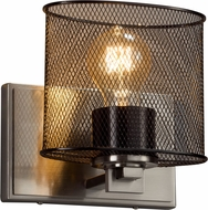 Justice Design MSH-8447-30 Wire Mesh Era Contemporary Wall Lighting Fixture
