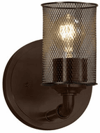 Justice Design MSH-8461 Wire Mesh Bronx Contemporary Wall Lighting Fixture
