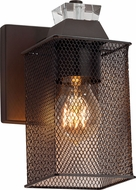 Justice Design MSH-8471 Wire Mesh Ardent Modern Wall Sconce Lighting