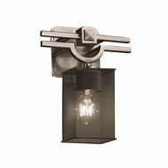 Justice Design MSH-8501 Wire Mesh Argyle Modern Wall Light Sconce